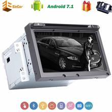 Android 7.1 car styling 4-core Car DVD Player for Hyundai Elantra 2016 car accessories 2Din 8'' Car Stereo GPS In Dash Bluetooth(China)