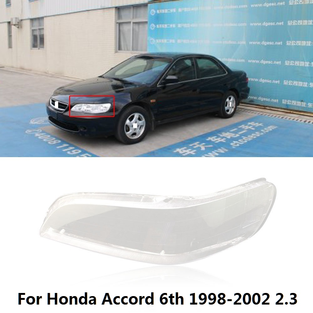 For Honda Accord 6th 1998-2002 Car Front Headlight Left Side Lampshade Cover