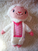Discounted! Doc Mcstuffins Clinic Lambie Plush Toy Dolls Stuffed Animals Toys Kids Gift 20cm(China)