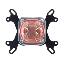 Computer CPU Water Cooler 50mm Transparent Cover Cooling Block For AMD Intel - L059 New hot(China)