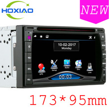 Car DVD GPS Player 173 x 95mm /CD/MP3/mp5/usb/sd/AM/FM/Bluetooth Support reversing rear view audio Touch Screen 2 din Car Radio