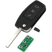 Keyless Entry Remote Key Fob 3 Button 433MHz With Chip 4D63 For Ford Focus for Mondeo C for Max S for Max for Galaxy for Fiesta