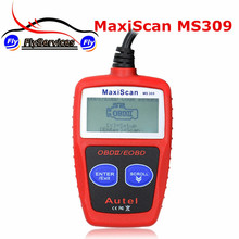 New Arrival MaxiScan MS309 OBD2 OBDII EOBD Scanner Car Code Reader Data Tester Scan Diagnostic Tool MS 309