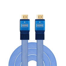 HDMI Cable 1.5M For PS3 DVD HDTV XBOX LCD HD TV 1080P Flat Cable AU28b(China)