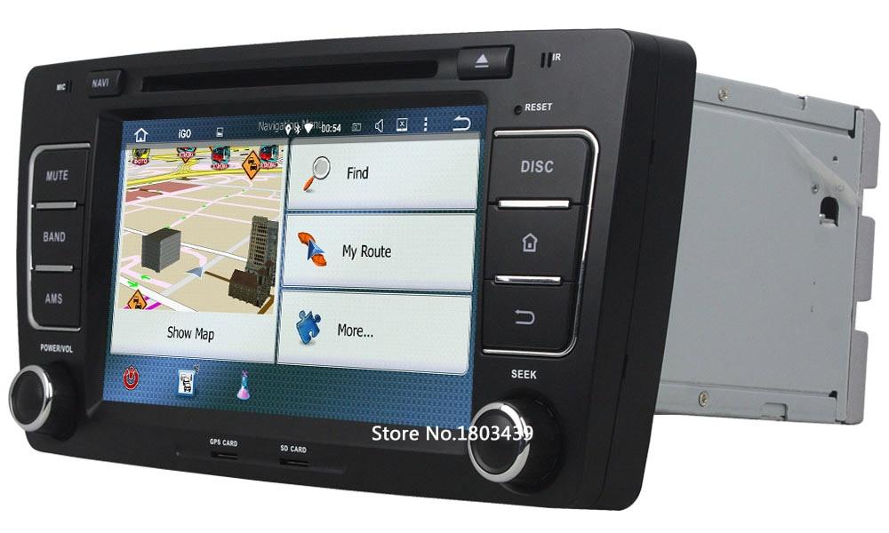 Octa Core 2GB RAM 32GB ROM Android 6.0.1 Car Radio 2Din Audio Stereo Multimedia DVD Player For Volkswagen Octavia 2012