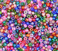 Doreen Box hot- Free Shipping 10/0 Mixed Glass Seed Beads Jewelry Making, sold per packet of 100 gram (B09084)
