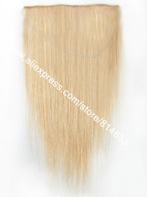 16~24 Silky Straight #16 Blonde 100% Indian Virgin Remy Hair The Queen of Hair Extension Easy to Wear Flip-in Hair Extension<br><br>Aliexpress