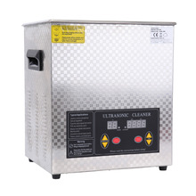 (Ship from Germany) Stainless Steel 15L Ultrasonic Cleaner Industry Heater Heated Cleaning with Timer