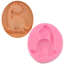 Cartoon Dinosaur Dragon Silicone Fondant Soap 3D Cake Mold Cupcake Jelly Candy Chocolate Decoration Baking Tool Moulds FQ3022