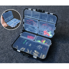 128Pcs/lot Fishing Accessories Set sinkers Swivels Stoppers Hooks Fishing Lures In Storage Box Fishing tool(China)
