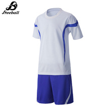 Kids survetement football 2017 boys soccer sets breathable customized football uniforms kits short sleeves maillots de football