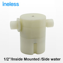 "1/2"" Side Inlet Water Outer Mounted Automatic Float Valve Water Level Control Valve For Solar Water Tank Tower Pool"