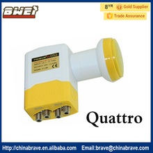 White & Orange Waterproof V/H Separated Lnb Ku Band Lnb Ku Band Quattro(China)