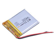 402530 3.7V 300mAh Rechargeable Li-Polymer Li-ion Battery For mp3 mp4 mp5 mouse Bracelet Wrist Watch DVR GPS PDA 402431 402629(China)