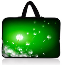"Green Dandelion Hot Sale Soft 12"" Laptop Carry Sleeve Case Bag Cover For 11.6"" Apple Macbook Air"