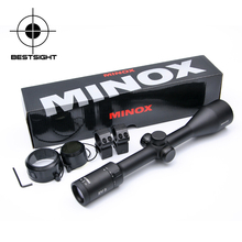 Minox 4.5-14x44 SF Tactical Riflescope Optic Sight Rifle Scope Side Focus Parallax Sniper Gear Hunting Scopes With Lens Cover(China)