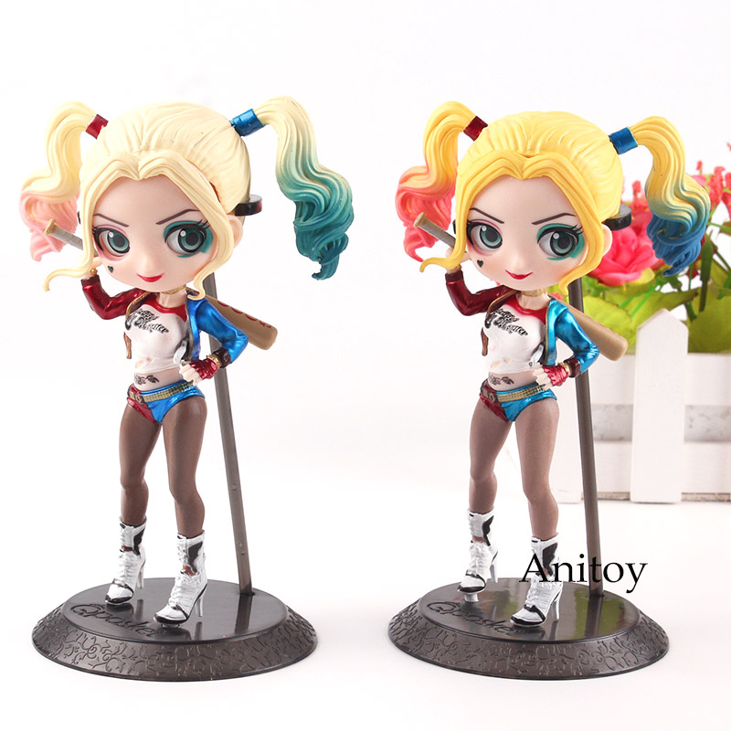 """DC Comics HARLEY QUINN 12/"""" Suicide Squad action figure w//bat-FREE SHIPPING"""