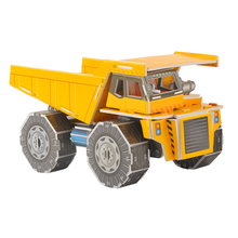 D521 Free shipping 2014 hot new intelligence jigsaw puzzle 3 d forklift diy car stereo(China)