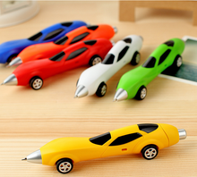 Free shipping 1pc Novelty Classic Toys Cars Ballpoint Pens Diecasts & Toy Vehicles Multicolor Cars Toys for children gift GYH(China)