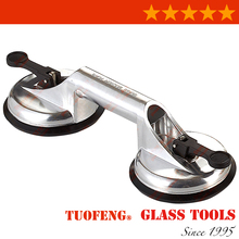 Glass Double Suction Lifter Two Suction Cup Sucker Puller Car Glass Mover Tool Construction Tools