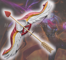 [LOL] Heartseeker Varus Skin Exclusive Weapon Bow & Arrow Accessories Game Toy Model Collection The Arrow of Retribution Jewel(China)