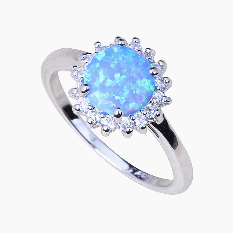 Detail Feedback Questions about Elegant Crystal Fire Opal Rings For ... 7d77a29e250a