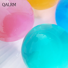 Buy 15Pcs / Lot Yellow Hydrogel Pear Shaped Big 13-18mm Crystal Soil Water Beads Mud Grow Ball Wedding Orbeez Growing Bulbs for $3.51 in AliExpress store