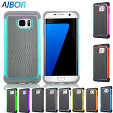 Football style Hybrid Armor Shockproof phone cases FOR Samsung Galaxy S3 S4 S5 S6 S7 edge plus Note 3 4 5 Back Cover Silica Gel