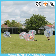 Free shipping 0.8mm PVC 1.5m diameter giant inflatable ball,soccer bubble,bubble ball for adults
