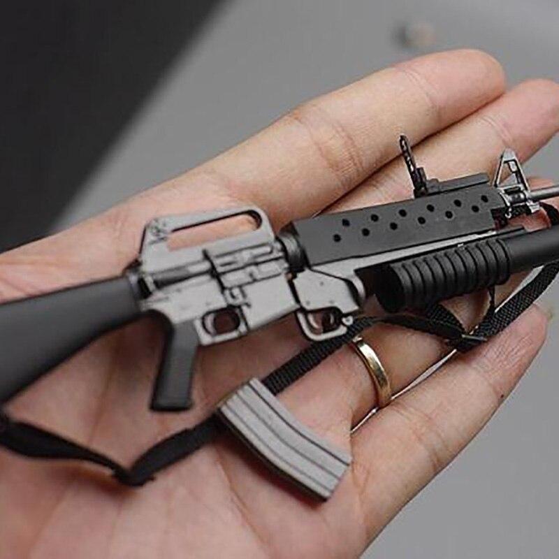 """1//6 Scale Weapon Model Plastic M16A2 Assault Rifle Gun F 12/"""" Action Figure"""