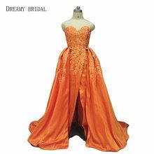 Dreamy Bridal Arabic Red Lace Long Vestidos De Festa A Line Sweetheart Sexy  Low Back Evening Dresses 57bae01112b7