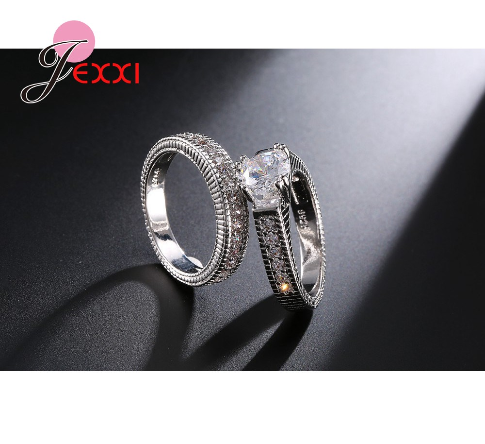 JEXXI-Elegant-Wedding-Engagement-Rings-Set-2-PCS-925-Sterling-Silver-Anniversary-Accessories-With-Full-Shiny (3)