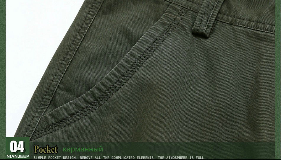 17 Brand Mens fashion Military Cargo Pants Multi-pockets Baggy Men Pants Casual Trousers Overalls Army Pants Joggers 2155 14