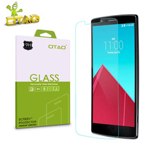 OTAO For LG G2 G3 G4 Mini G3 G4 Stylus Spirit Tempered Glass Screen Protector Mobile Phone 2.5D 9H Film with Cleaning Kits(China)
