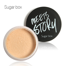 Wholesale 5 colors Sugar box Fabulous Pressed Face Make Up makeup  Cosmetics loose Powder Makeup Powder Palette Skin Finish