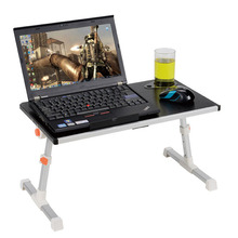 Adjustable Computer Desk Portable Laptop Folding Table Foldable Laptop Stand Desk Computer Notebook Stand On Bed table