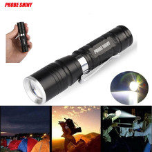 High Quality  Multi Functional Mini Zoom Clip Flashlight Simple  Coveient Structure Take Place