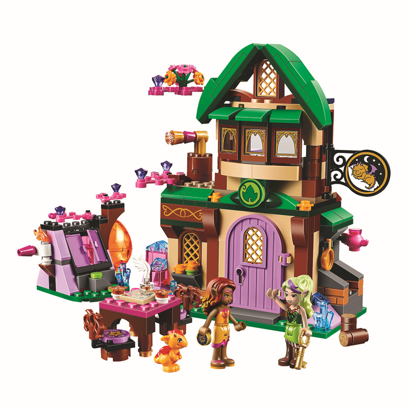 Bela 10502 Fairy Friends Elves The Starlight Inn Kits 41174 Building Blocks Bricks Girl Toys For Children<br><br>Aliexpress