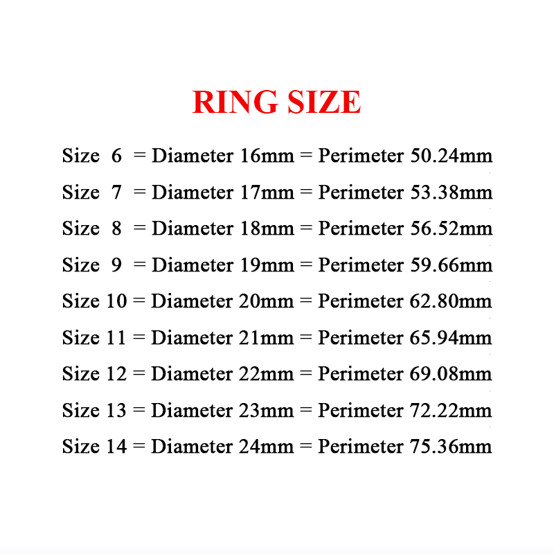 ring size
