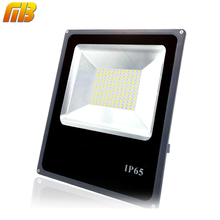 Ming&Ben Outdoor Flood Light SMD LED Glass surface 10W 30W 50W 90W 230V IP65 Waterproof LED Spotlight For Garage Garden Square