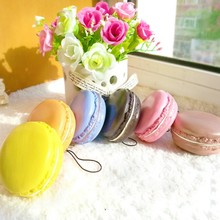 Kawaii Soft Dessert Macaron Squishy Cute Cell Phone Charms Key Straps Bag Key Chains Llaveros Mujer Chaveiro Carro