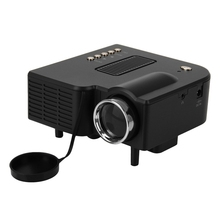 UC28 Multimedia Portable Mini Hd Led Projector Cinema Theater Support Pc Laptop HDMI VGA Input and SD USB AV with Remote Control