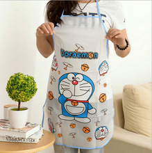 2016 Promotion Special Offer PE Apron Kit Bib Apron Cartoon Long Sleeve Cuff Waterproof Aprons Gowns Suits For Men And Women(China)