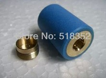 Brass and Plastic Sleeve/ Seat with Flat Top for 020 Guide Wheel(pulley) and 624 Bearing for High Speed Wire Cut EDM Parts(China)