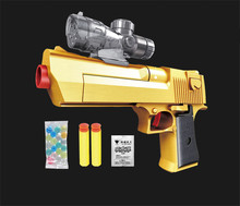 2016 Air Gun Desert Eagle toy gun compatible with Soft and Crystal Bullets Best Gift for Military fans