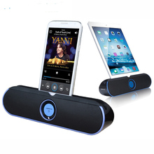 Shinsklly I806 Wireless Bluetooth Speaker Music Player With MIC Portable ipad speaker For phone NFC Multi-function Super Stereo