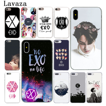Buy Lavaza EXO band k-pop kpop Hard Phone Case Apple iPhone X 10 7 6 6s 8 Plus 4 4S 5 5S SE 5C Coque Shell Cover for $1.61 in AliExpress store