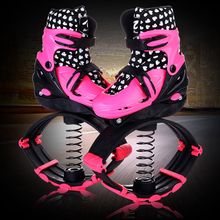 2 In 1 Skate And Jump jumping Shoes Fitness Exercise 20~70kg(44lb-154lb) Space Bouncing Shoes Jump And Skate(China)