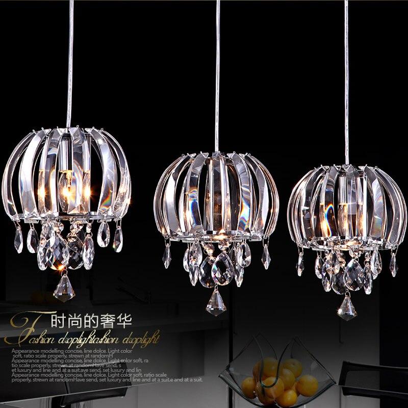 Modern dining room lamp bar dining room dining room lamp chandelier chandelier lamp crystal Pendant Lights<br><br>Aliexpress
