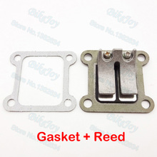 Reed Valve Block Gaskets For 47cc 49cc Mini Moto ATV Quad Dirt Bike Pocket Bike  Motorcycle Motocross